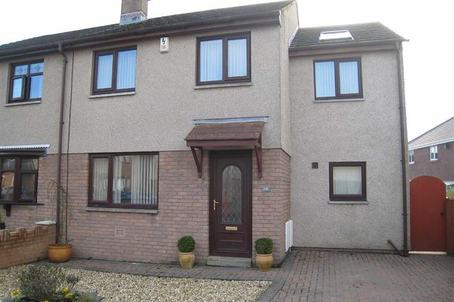 Thumbnail Semi-detached house to rent in Hollins Park, Moor Row