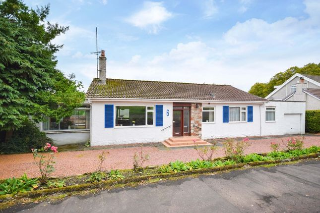 Thumbnail Detached bungalow for sale in Woodside Road, Carmunnock, Glasgow
