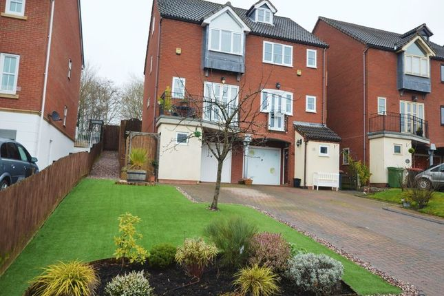 Thumbnail Detached house for sale in Ellender Rise, Lawley Bank, Telford