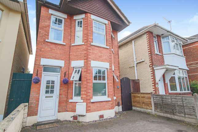 Thumbnail Detached house for sale in Strouden Road, Bournemouth