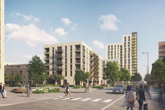 Thumbnail Flat for sale in Elements, Ponders End