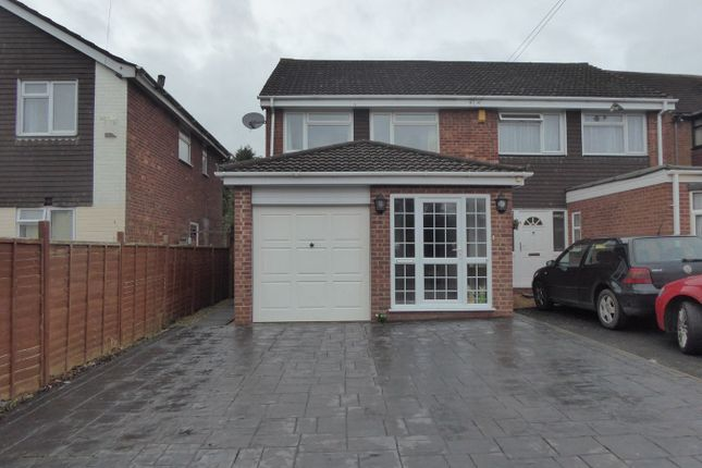 Thumbnail Semi-detached house for sale in Woodrow Lane, Catshill, Bromsgrove