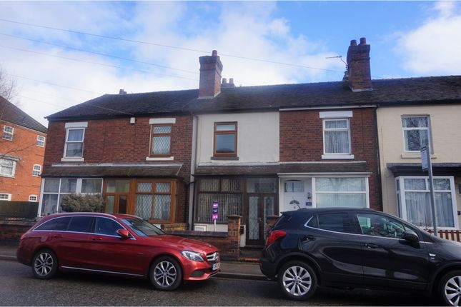 Thumbnail Terraced house for sale in Whieldon Road, Mount Pleasant, Stoke-On-Trent