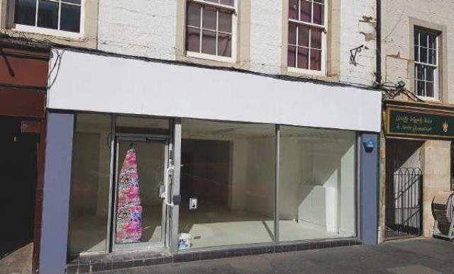 Retail premises to let in Jamieson Court, Crossgate, Cupar