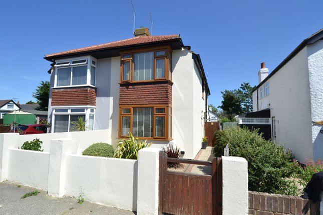 Thumbnail Semi-detached house for sale in Wynn Road, Whitstable