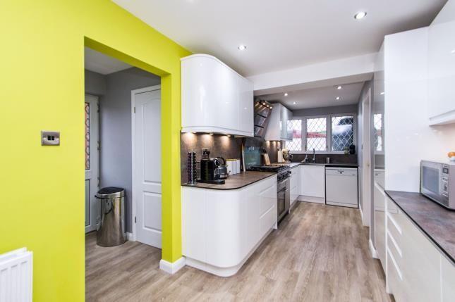 Kitchen of Cordwell Close, Castle Donington, Derby, Leicestershire DE74
