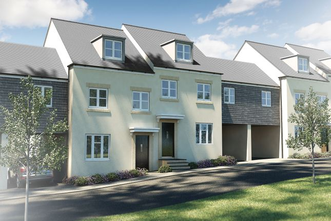 "Thumbnail Semi-detached house for sale in ""The Acton Sp"" at Barracks Road, Modbury, Ivybridge"