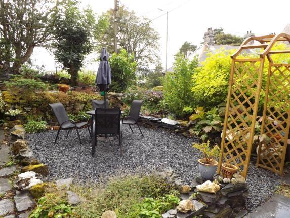 Side Patio Area of Upper Llwyngell Terrace, Rhiwbryfdir, Blaenau Ffestiniog, Gwynedd LL41