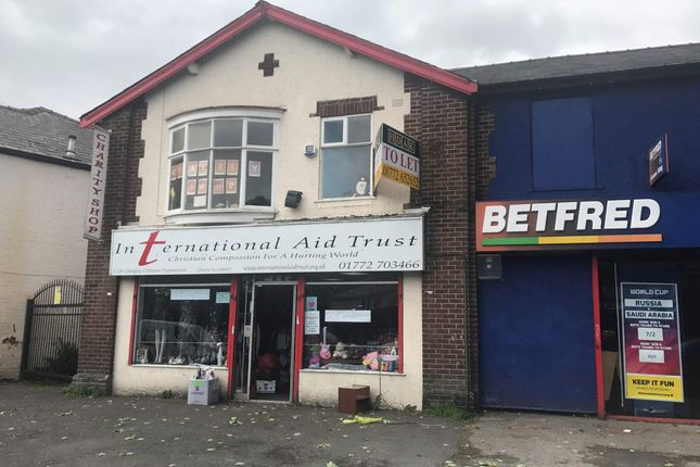 Thumbnail Retail premises to let in 45 Blackpool Road, Ribbleton, Preston