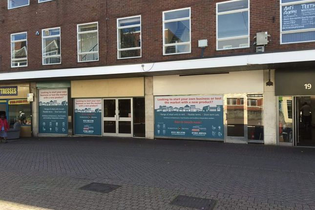 Thumbnail Retail premises to let in Range Of Units From 1016 Sq/Ft, Bridge Street And Church Street, Nuneaton