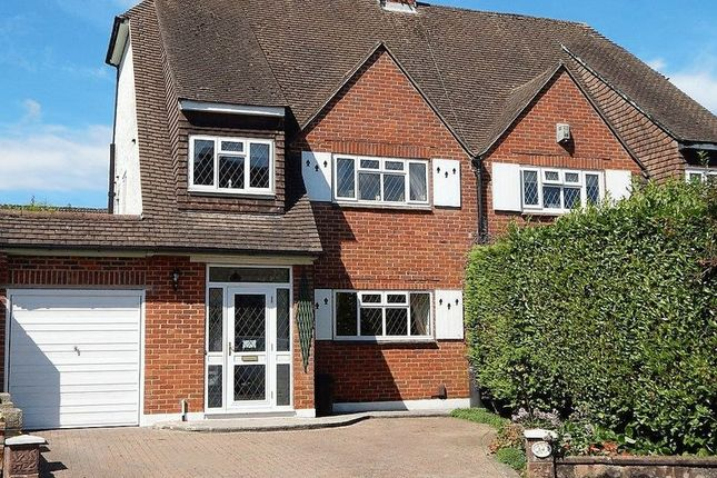 Thumbnail Semi-detached house for sale in Darcy Close, Old Coulsdon, Coulsdon