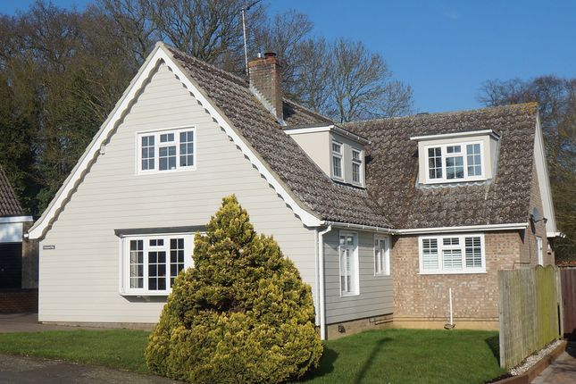 Thumbnail Detached house for sale in Orchard Way, Horringer, Bury St. Edmunds