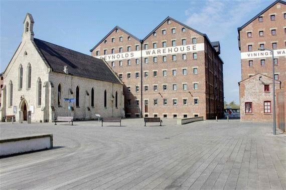 Thumbnail Flat for sale in Double Reynolds Warehouse, The Docks, Gloucester