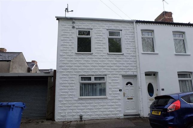 Thumbnail End terrace house to rent in Davies Street, Barry, Vale Of Glamorgan