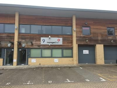 Thumbnail Warehouse for sale in 9 Beaufort Court, Roebuck Way, Knowlhill, Milton Keynes