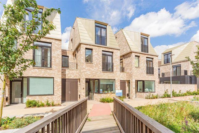 Thumbnail Terraced house for sale in Knights Park At Athena, Eddington Avenue, Cambridge