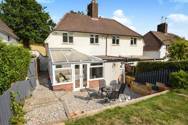 Thumbnail Semi-detached house for sale in Beacon Road, Woodhouse Eaves, Loughborough