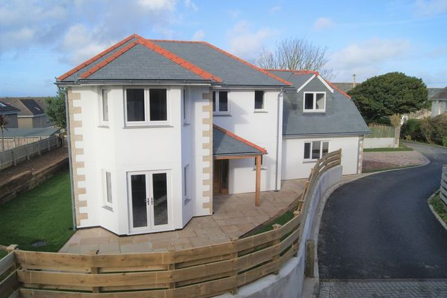 Thumbnail Detached house for sale in Off Headland Road, Carbis Bay, Cornwall