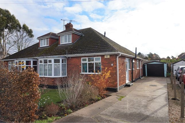 Thumbnail Semi-detached bungalow for sale in Marquis Avenue, New Waltham, Grimsby