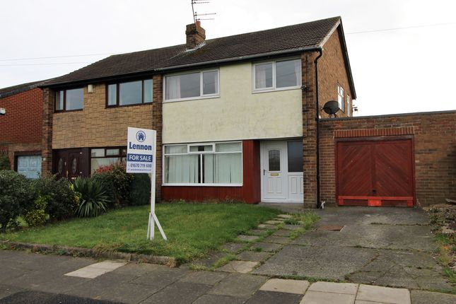 Thumbnail Semi-detached house to rent in The Orchards, Blyth