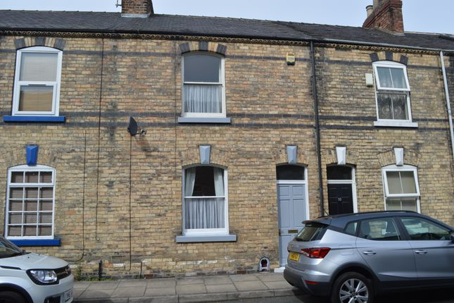 Thumbnail Terraced house to rent in Waverley Street, Off Monkgate, York