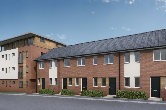 Thumbnail Town house for sale in Cottage Close, Chesterfield