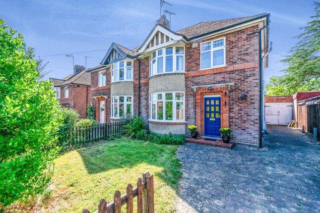 Thumbnail Semi-detached house for sale in Girton, Cambridge