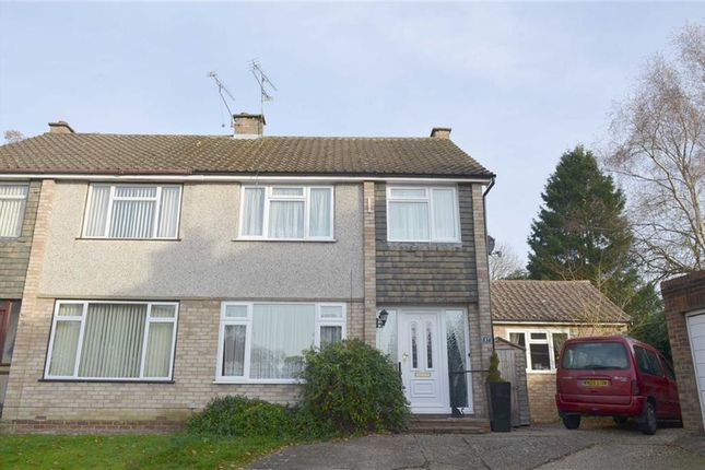Thumbnail End terrace house for sale in Pensford Close, Crowthorne, Berkshire