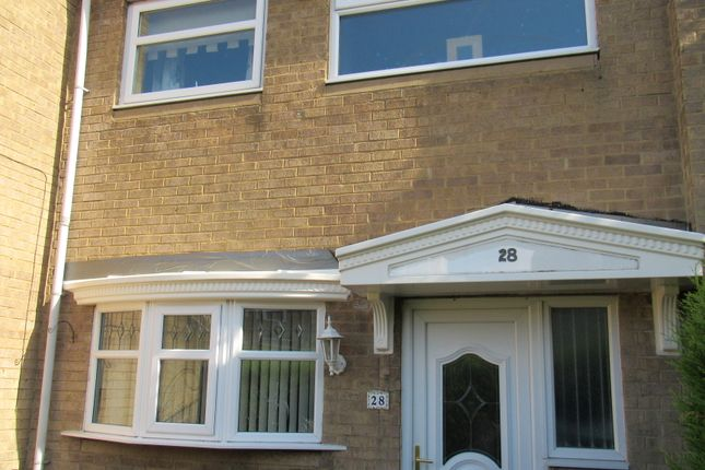 Thumbnail End terrace house to rent in Monday Crescent, Newcastle Upon Tyne