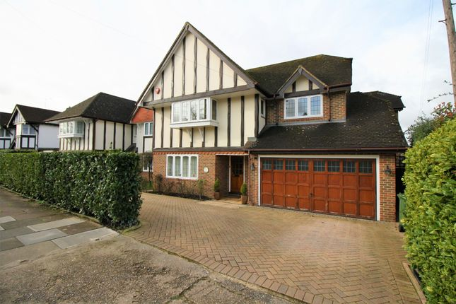 Thumbnail Detached house to rent in Grange Gardens, Pinner