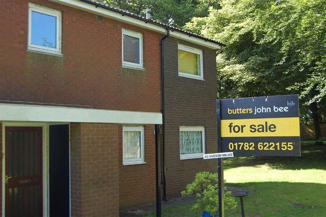 Thumbnail Flat for sale in Station Walks, Halmerend, Newcastle-Under-Lyme