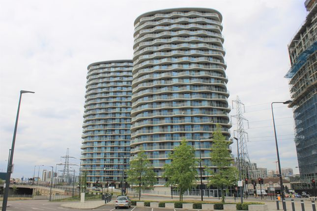 Thumbnail Flat for sale in Hoola West Tower, Royal Victoria, London