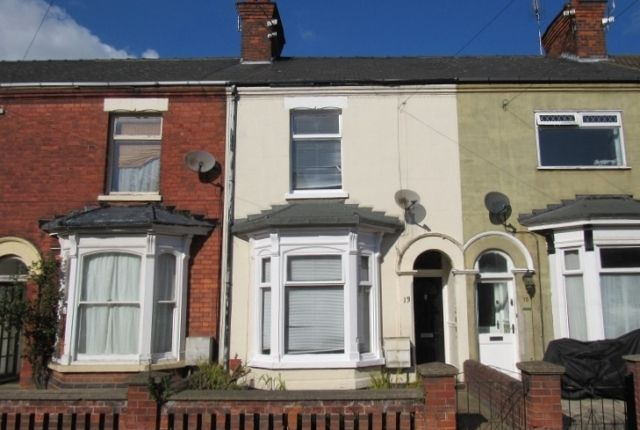 Thumbnail Terraced house to rent in Algernon Street, Grimsby