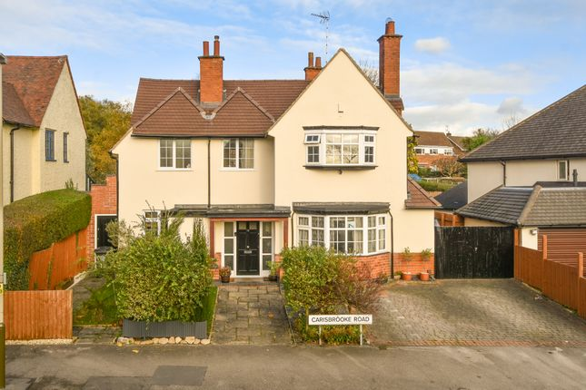 Thumbnail Detached house for sale in Carisbrooke Road, Knighton, Leicester