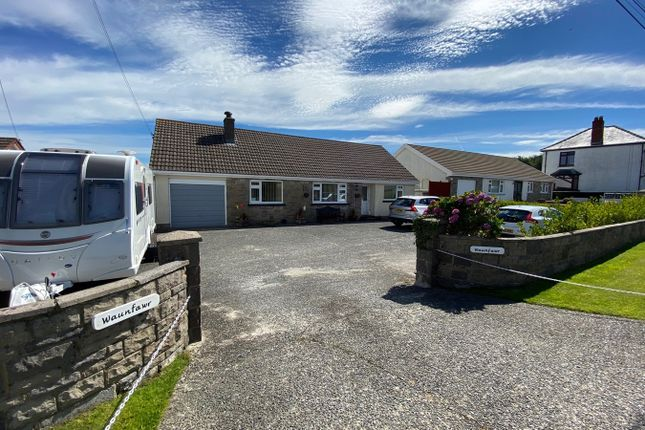 Thumbnail Bungalow for sale in Pentre'r Bryn, Nr New Quay