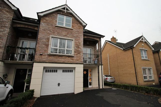 Thumbnail Semi-detached house to rent in The Rose Garden, Dunmurry, Belfast