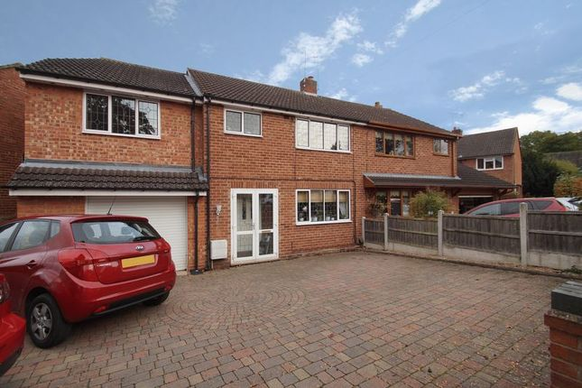 Thumbnail Semi-detached house for sale in Harport Road, Redditch
