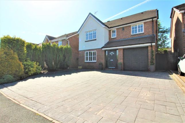 Thumbnail Detached house to rent in Campbell Close, Walshaw, Bury