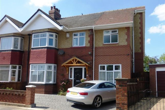 Thumbnail Semi-detached house to rent in Westbrooke Avenue, Hartlepool