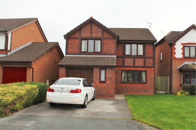 Thumbnail Detached house for sale in Mouldsworth Close, Northwich, Cheshire