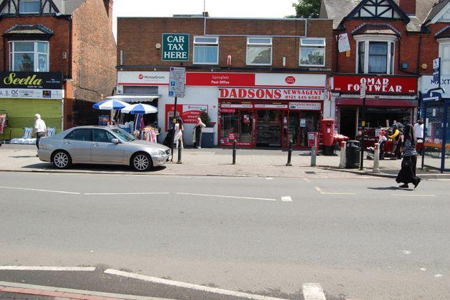 Thumbnail Retail premises for sale in 830 Stratford Road, Sparkhill
