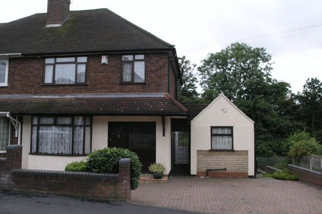 Thumbnail Semi-detached house for sale in High Haden Road, Cradley Heath