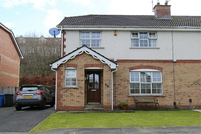Thumbnail Semi-detached house for sale in Good Shepherd Glen, Waterside, Londonderry