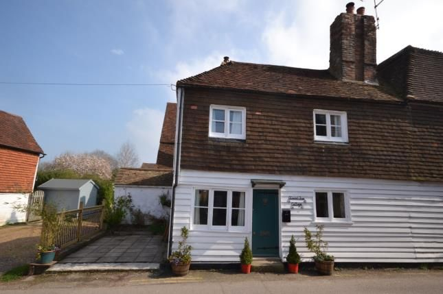 Thumbnail Semi-detached house for sale in Ham Lane, Burwash, Etchingham, East Sussex