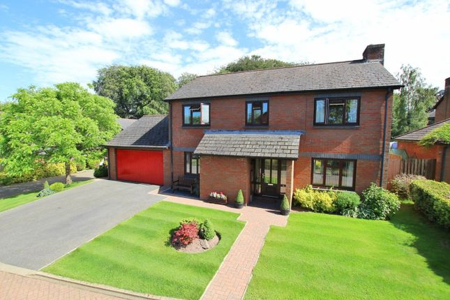 Thumbnail Detached house for sale in Beacons Park, Brecon