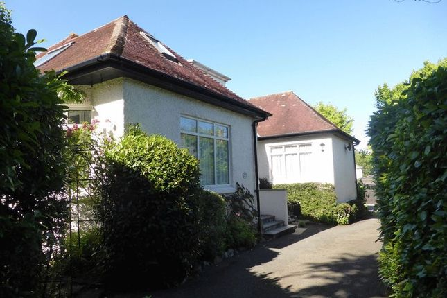 Thumbnail Detached bungalow for sale in Poltair Road, St. Austell