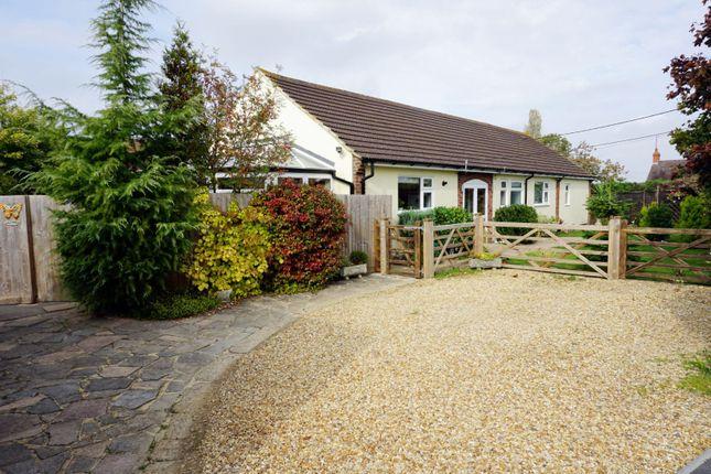 Thumbnail Detached bungalow for sale in Avenue Road, Rushden