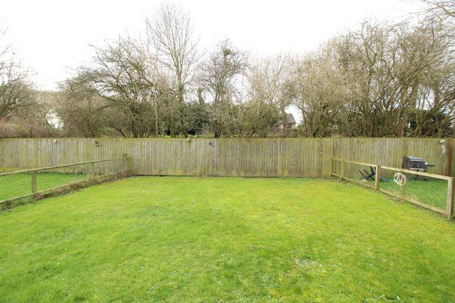 Rear Garden of Locomotion Lane, Darlington, Durham DL2