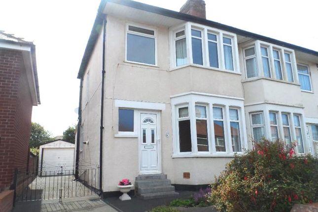 Thumbnail Semi-detached house for sale in Davenport Avenue, Blackpool