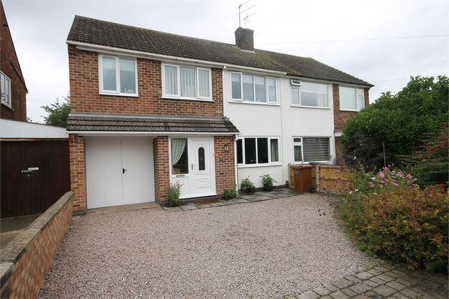Thumbnail Semi-detached house for sale in Peebles Road, Newark, Nottinghamshire.